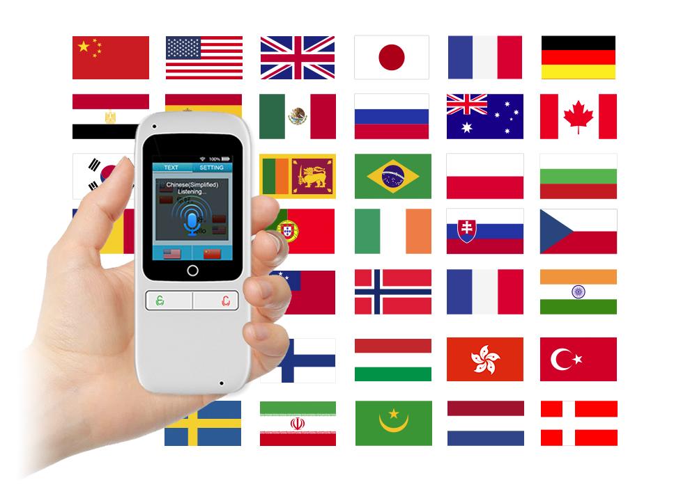 翻訳機 100言語対応